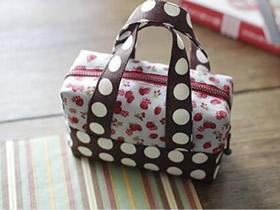 怎么做女生用便当包 不织布制作小巧可爱便当包