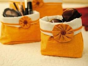 怎么做简洁收纳袋的方法 布艺手工制作收纳布袋