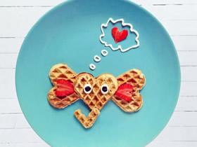 有爱的食物摆盘作品图片 孩子喜欢的卡通风格