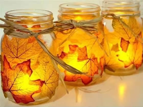 怎么做树叶灯的方法 枫叶手工制作浪漫灯饰