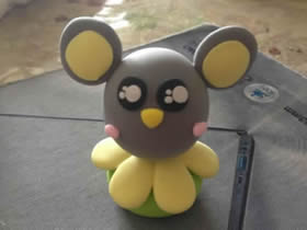 怎么做卡通小老鼠图解 超轻粘土制作老鼠步骤