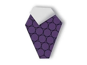 怎么折纸一串葡萄教程 幼儿手工葡萄的折法