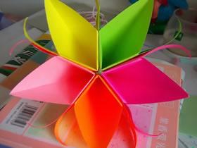 怎么简单折纸五瓣花 儿童手工五瓣花的折法