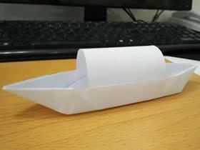 怎么折纸乌篷船图解 儿童手工乌篷船的折法