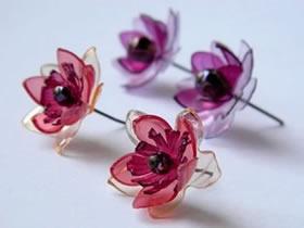 怎么做塑料花的方法图解 饮料瓶手工制作花朵