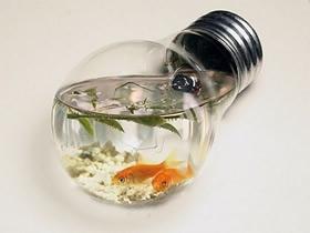 怎么把旧灯泡废物利用 创意灯泡手工DIY图片