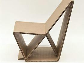 怎么做瓦楞纸椅子的方法 硬纸板制作椅子教程