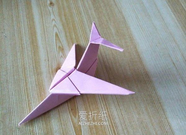 小学生做的新年贺卡_怎么折纸组合式飞机图解 儿童手工飞机的折法_爱折纸网