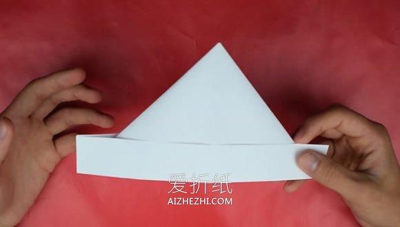 报纸帽子的折法图解_怎么折纸帽子最简单 尖顶纸帽子的折法图解_爱折纸网