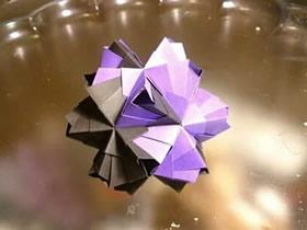 怎么折纸许愿球的方法 手工许愿球的折法步骤