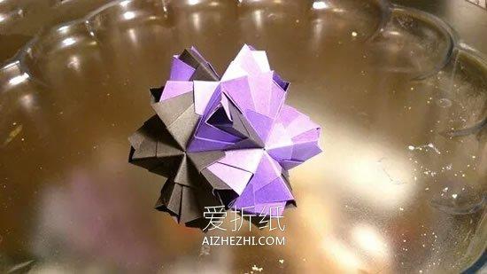 怎么折纸许愿球的方法 手工许愿球的折法步骤_爱折纸网 最新折纸方法