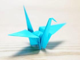 怎么折纸鹤的详细图解 零基础千纸鹤折法教程