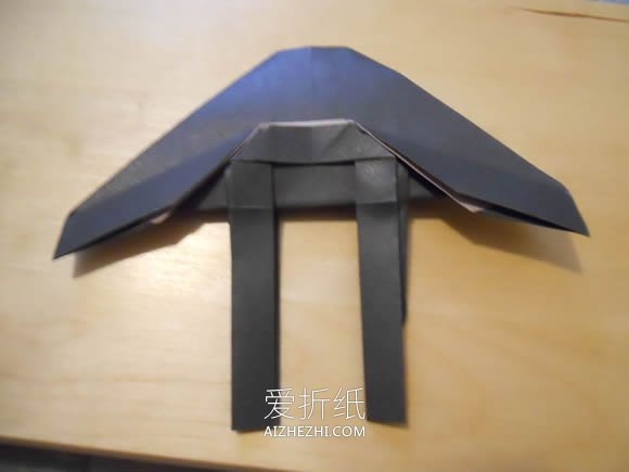 怎么折纸战斗机模型 手工SeaVixen战斗机折法-www.dyy7.com