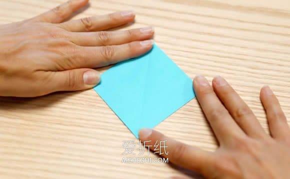 怎么折纸鹤的详细图解 零基础千纸鹤折法教程- www.aizhezhi.com