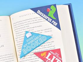 怎么简单做三角形书签 卡纸手工折纸边角书签