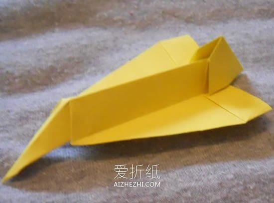 怎么折纸协和式飞机 协和式纸飞机的折法图解_爱折纸网 最新折纸方法