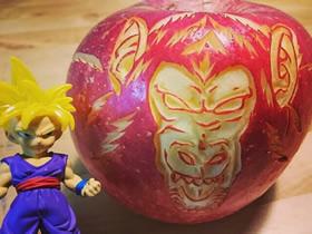 水果蔬菜的精美雕刻作品 变身水果艺术品!