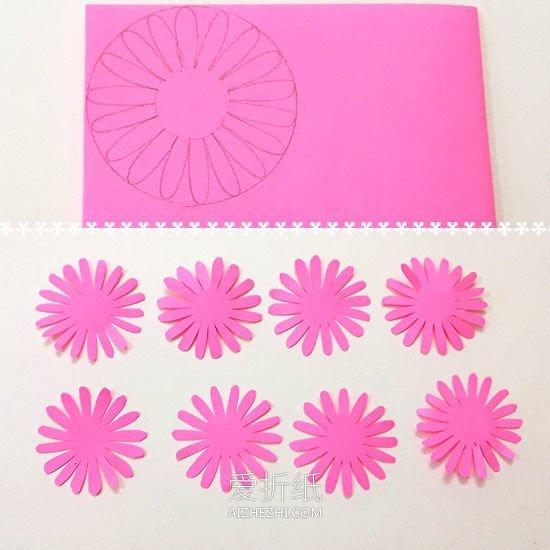 [视频]怎么手工做纸雏菊的方法教程- www.aizhezhi.com