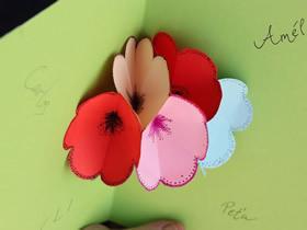 怎么做送妈妈的生日贺卡 立体母亲生日卡片制作