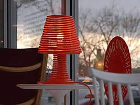 怎么做创意台灯的方法 手工电线绕线制作台灯