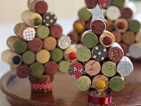 怎么把红酒瓶软木塞废物利用的手工作品图片
