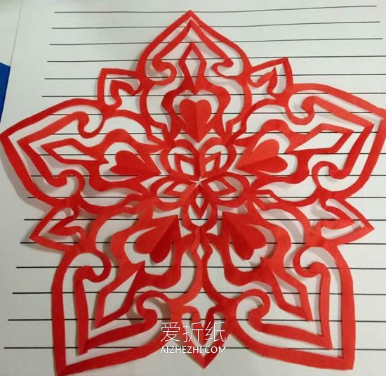 五瓣花剪纸_怎么剪纸春节五瓣窗花 手工五角花的剪法图解_爱折纸网