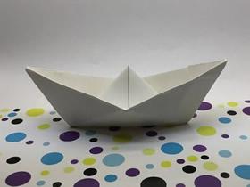 怎么折纸船最简单图解 纸船的折法详细教程