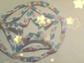 怎么剪纸五角星窗花的折法和剪法图解