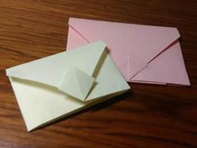 怎么折纸信封简单又有创意的图解教程