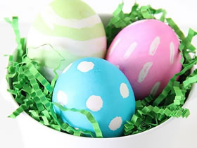 怎么自制复活节彩蛋的方法教程
