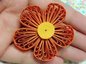 衍纸入门教程:怎么做衍纸小花的方法图解
