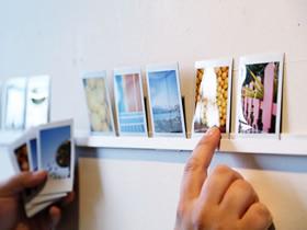 怎么用塑料条手工制作照片墙的方法图解