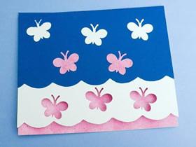 怎么手工制作漂亮教师节蝴蝶贺卡的方法教程