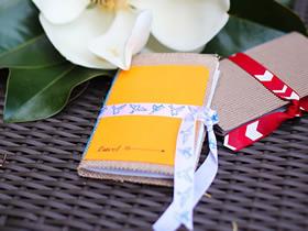 怎么简单自制精美日记本的方法教程