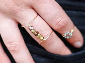 怎么用金属丝DIY制作简易戒指的方法教程