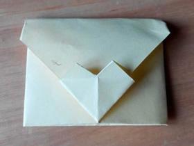 有创意的情人节爱心信封怎么折图解