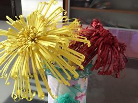 怎么做纸菊花的手工制作图解教程