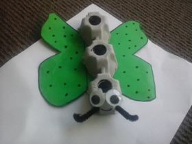 怎么做鸡蛋托蝴蝶的手工制作教程