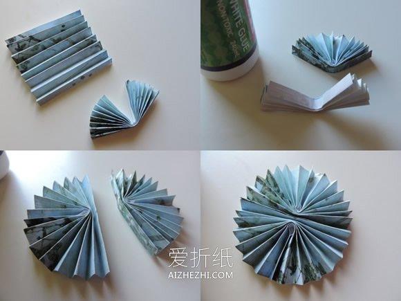 儿童怎么手工制作纸徽章的简单图解教程- www.aizhezhi.com