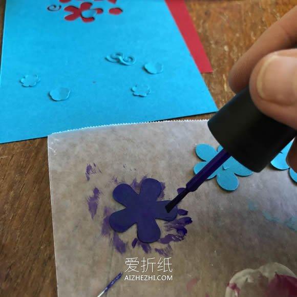 怎么做精美又大气母亲节贺卡的手工制作图解- www.aizhezhi.com