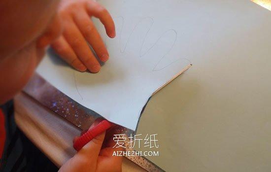 幼儿怎么做教师节百合花贺卡的制作方法教程- www.aizhezhi.com