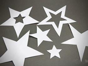 [视频]怎么只用一刀剪纸出五角星星的剪法教程
