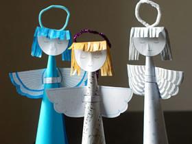 怎么做圣诞节平安夜小天使挂饰的制作方法图解
