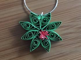 圣诞节怎么做圣诞花环挂饰的制作方法图解