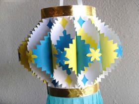 怎么做中秋节纸灯笼简单又漂亮的方法图解