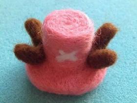 怎么做羊毛毡乔巴帽子的手工制作图解教程