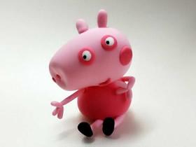 怎么做超轻粘土小猪佩奇的制作方法图解