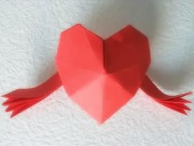 怎么折纸爱之拥抱的折法图解教程