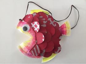 怎么做春节年年有鱼挂饰的手工制作教程