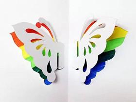 怎么做教师节立体蝴蝶贺卡的制作方法图解